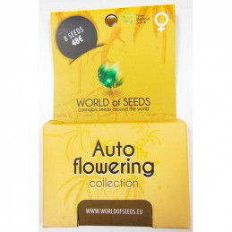 Autoflowering Collection - World of Seeds -mix semen - 8 ks
