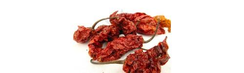Sušené papričky
